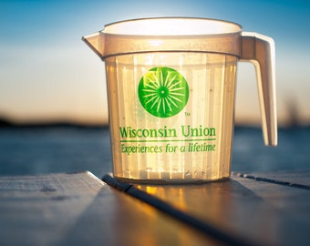 Wisconsin Memorial Union Photography - Sunset - Madison, WI - Beer Photography