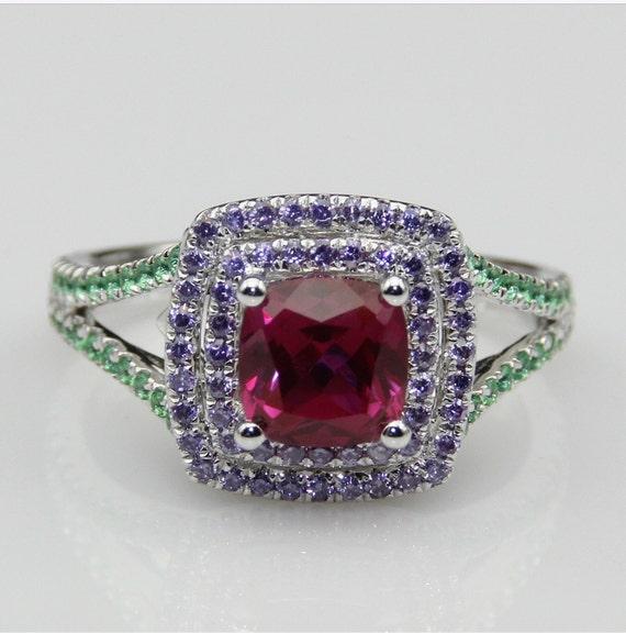 Little Mermaid Inspired Engagement Promise Ring Wedding