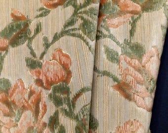 Mid Century Plush Cut Velvet Fabric Decor Cloth Luxurious Upholstery Material