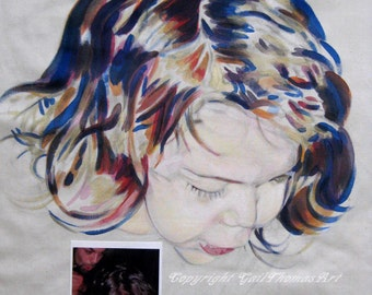 Portraits on Fabric and Paper Catalog by Gail E.Thomas