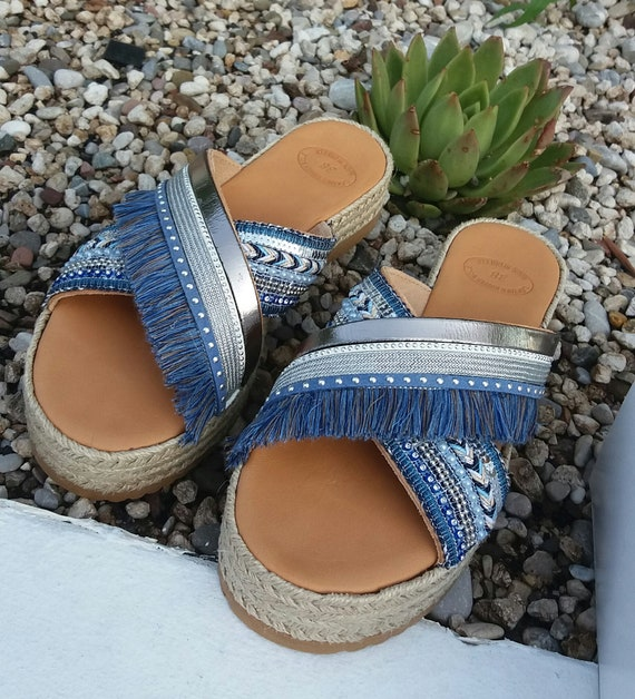 Sandals Greek Sandals Sandals Sandals Sandals 100 Leather Sandals Boho Handmade Genuine Greek Summer Leather Bohemian Handmade UEv88
