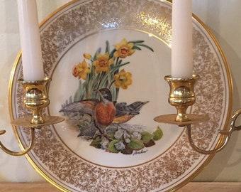 Lenox Boehm bird plate Robin