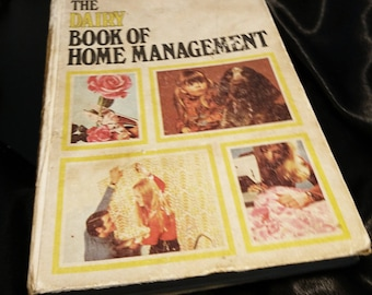 The Dairy book of home management, a practical home management guide from the 60's, vintage books