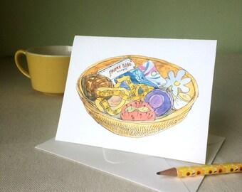 Cards - Sewing Basket set of 4