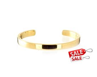 Simple Gold Cuff Bracelet Simple Gold Bracelet Cuff Simple Gold Brass Cuff Bracelet Simple Gold Brass Bracelet Cuff 156