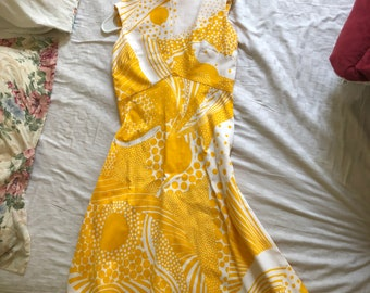 Vintage 60s or early 70s dress