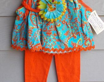 2 pc 100% cotton 2T Toddler loungewear, jammies, pajama set, toddler pajama set, sleepwear, activewear, playwear, leggings and t shirt