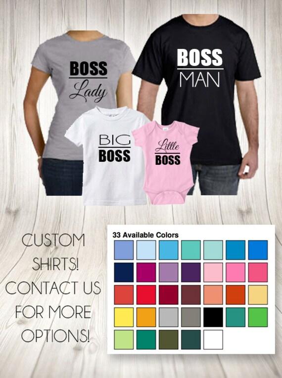 boss man t shirt