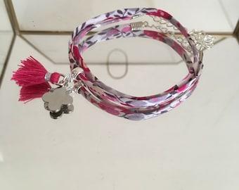 Double bracelet all liberty bougainvillea