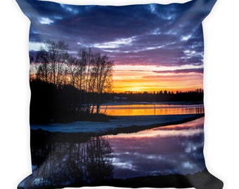 Sunset - Square Pillow