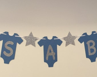 It's A Boy baby shower banner