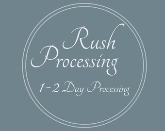 Upgrade Processing - Design Finished in 1-2 Days