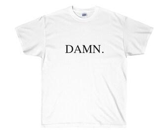 Kendrick Lamar Damn Black Logo T Shirt Hip Hop Tee Rap New TShirt Tee Dr Dre Kung Fu Kenny K Dot Compton California Good Kidd Maa