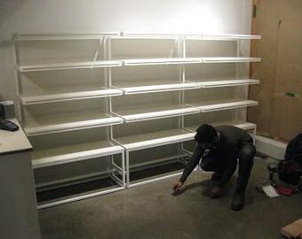 L-Profile Shelf Units.