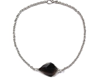 black obsidian purification necklace