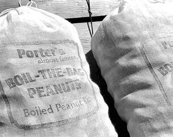 Boiled Peanuts - Porter's BOIL-THE-BAG Peanuts [2 Bags] Gluten Free!!