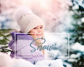 30 Snow Photo Overlays in png format