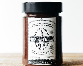 Boozetella: Red Wine, Chocolate & Hazelnut Sauce - 314mL