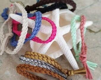 Braided diffuser bracelet, essential oil diffuser bracelet, diffusing bracelet, aromatherapy jewelry, natural bug repellent, oils bracelet