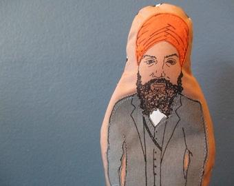 Jagmeet Singh Finger Puppet