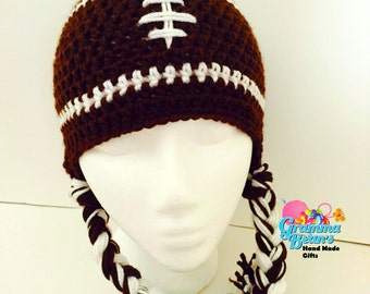 Fun Football Beanie