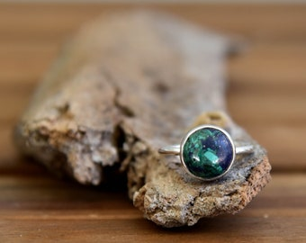 Emerald Quartz Ring - Size: 5