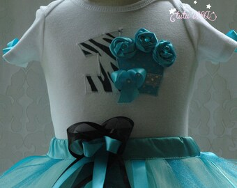 1st birthday girl outfit,blue and black birthday tutu,cupcake birthday outfit,one year old girl birthday outfit,1,2nd,3rd,4th,5th girl tutu