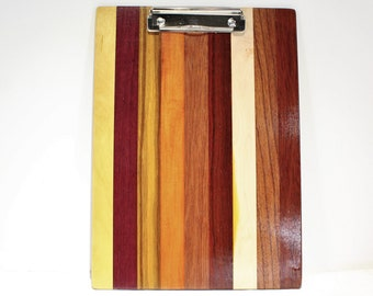Wooden Clipboard, Wood Note Pad, Unique Office Gift (#247)