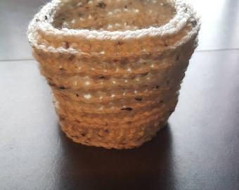Crochet ice cream coozy