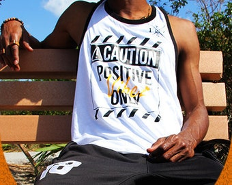 Caution Tank Top