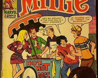 Mad About Millie #5 (1969) Comic Book