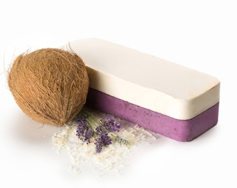 Lavender Soap Loaf FREE SHIPPING, Natural Soap, Wholesale Soap, Cold Process Soap, Bulk Soap Bulk, Artisan Soap, Homemade Soap, Castile Soap