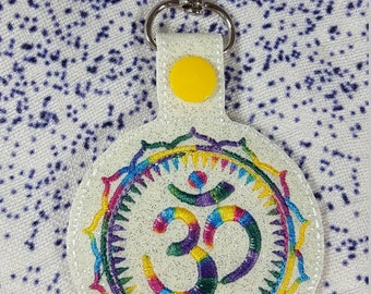 Namaste Om Keychain Schlüsselanhänger Yoga