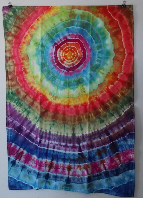 Flour Sack Towel, Ice-Dyed Towel, Tie-Dyed Flour Sack Towel, Dish Towel, Kitchen Towel, Cotton Towel, Tie Dyed Towel, Tea towel