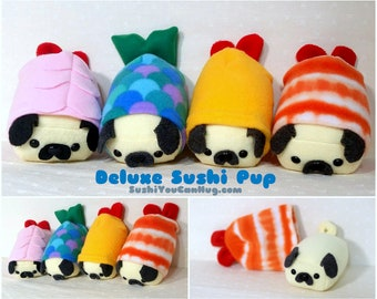 Custom Deluxe Sushi Pup- Mini -Made to order