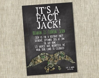 Duck dynasty birthday party invite childrens party duck dynasty birthday party invite childrens party invitation party si jack filmwisefo Gallery
