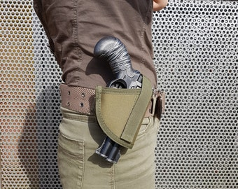 Custom painted Nerf Doublestrike with matching hip holster and and canvas belt incl. 10 darts