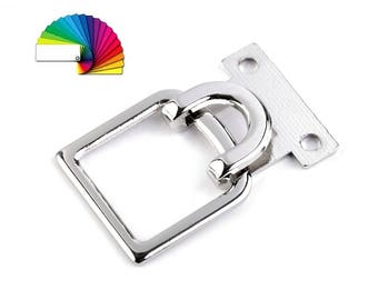 2 Decorative Buckle Closure Clasp 27x42 mm