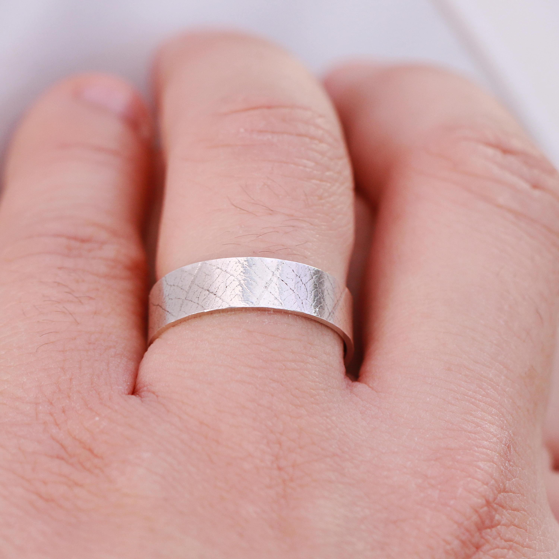 Sterling Silver Ring|Sterling Silver Leaf Ring|Silver Leaf Pattern ...
