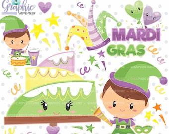 Mardi Gras Clipart, Mardi Gras Graphics, COMMERCIAL USE, Carnival Cliparts, Mardi Gras Party, Mardi Gras Graphics, Clip Art