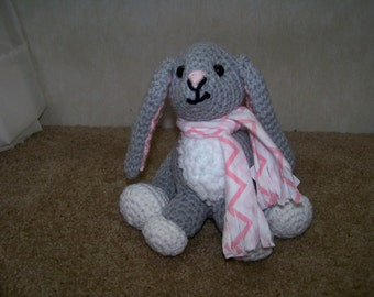 Beatrice the Crocheted Bunny