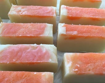 Wild Cherry Shampoo Bar - Lathers without chemicals-Great for All Hair Types