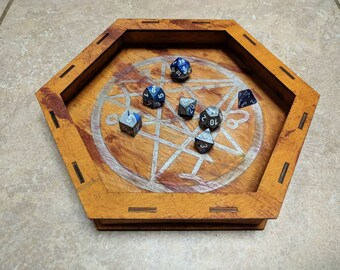 "The Summoning: Blood Sacrifice - Premium 10"" Laser Cut Dice Tray"