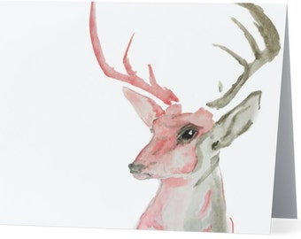 """Dream Stag Greeting Card - 5.5"""" x 4"""""""