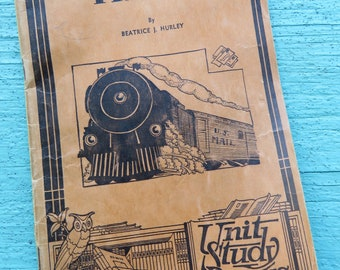 Trains by Beatrice J. Hurley, 1934