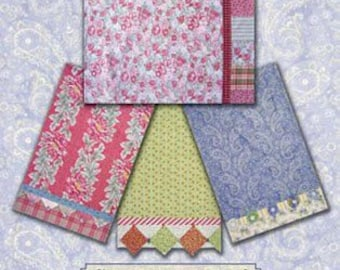 Romancing the Charm Pillowcase - Paper Sewing Pattern for Charm Packs - Black Cat Creations