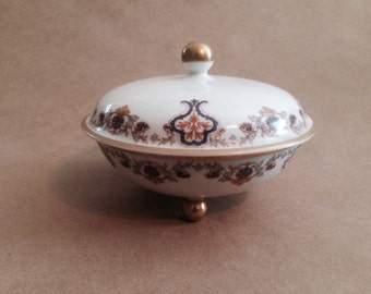 Vintage Haviland Limoges Footed Bonbon Bowl