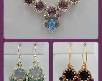 Flutter Earrings PDF Jewelry Making Tutorial Pattern (INSTANT DOWNLOAD)