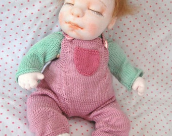 """Realistic Doll, Newborn Doll, Soft Doll, Waldorf Inspire Doll, Cloth Doll, Handmade Doll, Baby Doll, Colectible Doll, Gift, MAYA 15"""" Doll"""