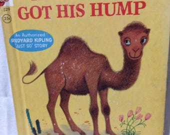 Vintage How the Camel Got His Hump Rand McNally Elf Book